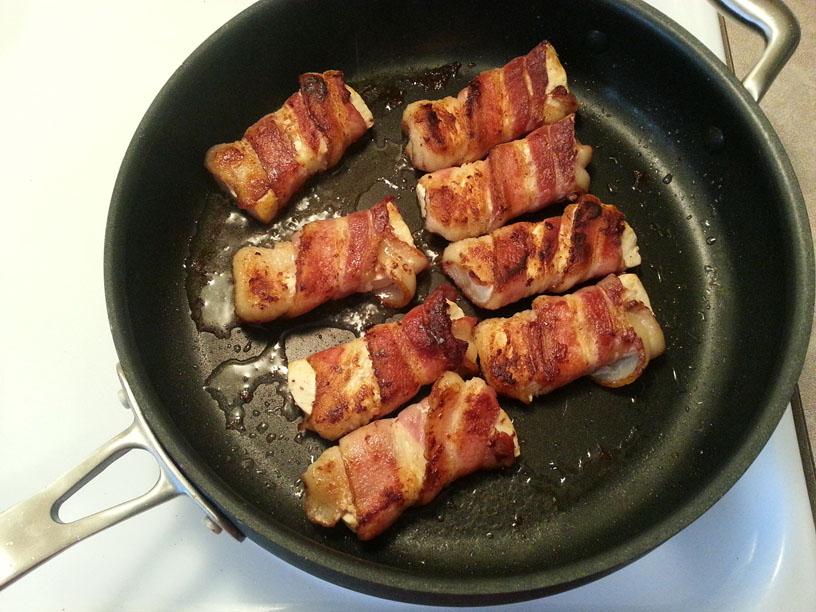 Teriyaki Bacon Wrapped Tofu