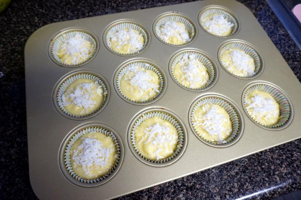 Banana Mochi Muffins