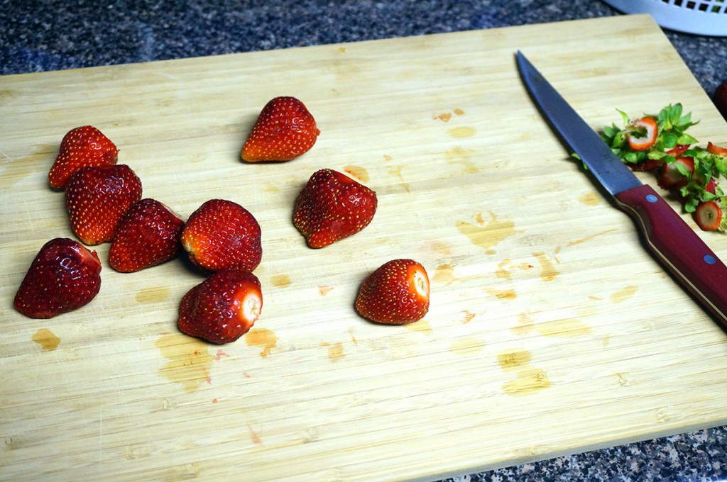 Strawberry Daifuku Steps