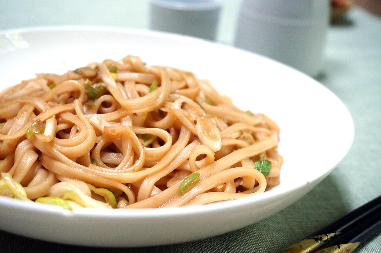 Sesame Ginger Udon Noodles | Japanese Cooking Recipes ...