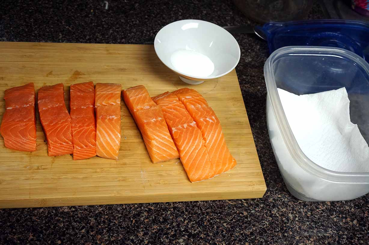 how to make japanese salted salmon