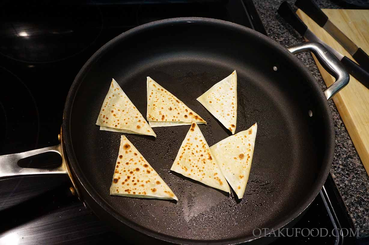 Mini Wonton Quesadillas