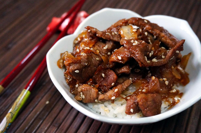 Beef Shigureni