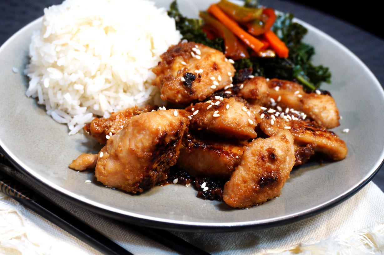Chicken with Sesame Sauce