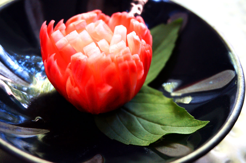 Chrysanthemum Radishes
