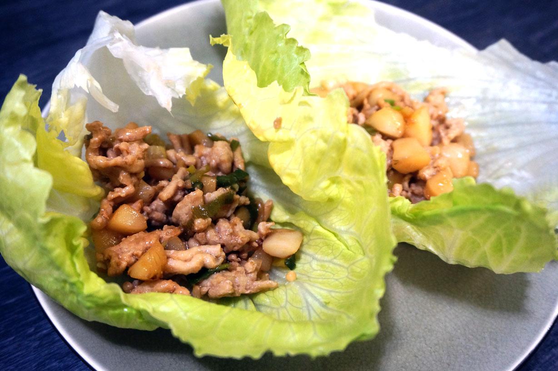 Teriyaki Lettuce Wraps