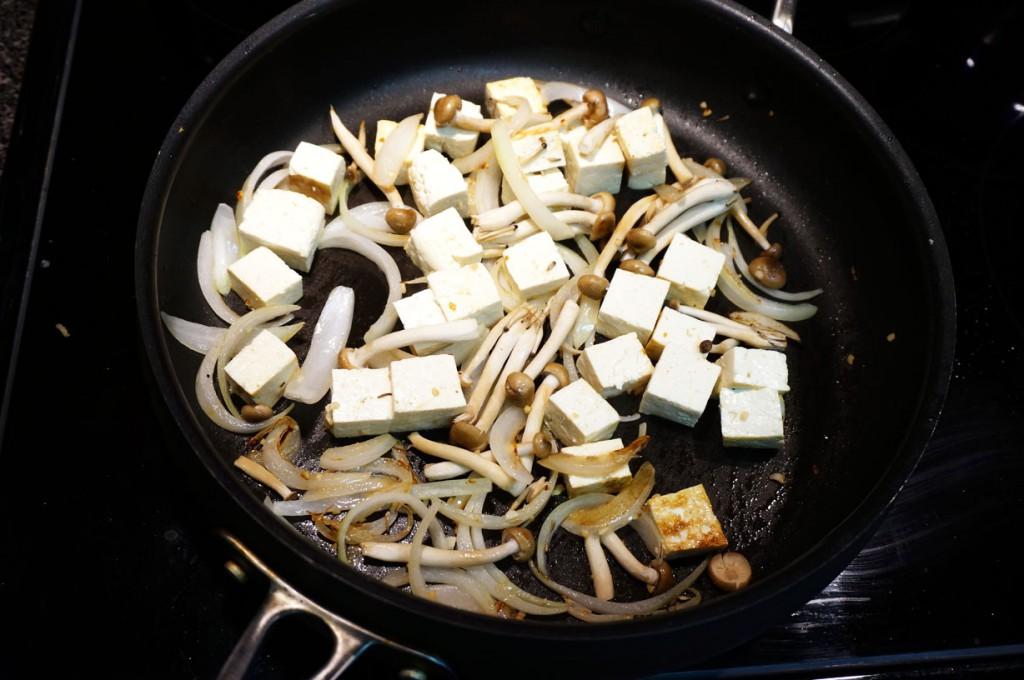 Tofu Mushroom Donburi