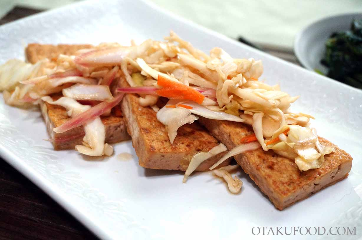 Nanban Marinated Tofu